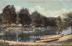 Purvis Lake - Hurleyville, New York