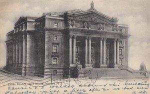 NEWARK, New Jersey, PU-1906; Essex County Court House