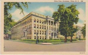 Utica Free Acadmey, Utica, New York 1930-40s