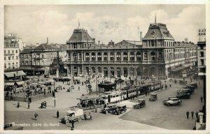 Belgium Brussels Bruxelles Gare du Nord RPPC 06.79