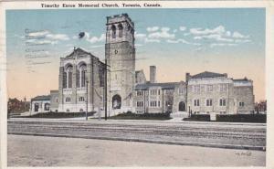Timothy Eaton Memorial Church, Toronto, Ontario, Canada, PU-1922