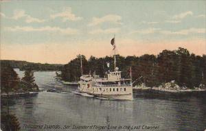 Thousand Islands , Steamer ISLANDER , in the Lost Channel , 00-10s
