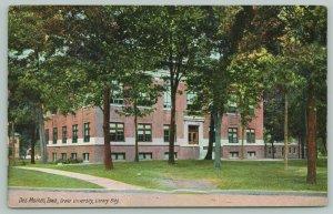 Des Moines Iowa~Drake University Library Building~1911 PC