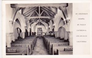 California Los Angeles Saint Columba's Chapel Saint Paul's Cathedral