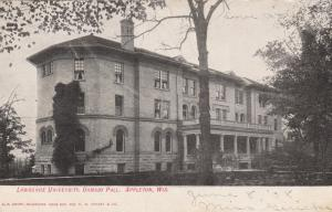APPLETON , Wisconsin , PU-1908; Ormsby Hall, Lawrence University