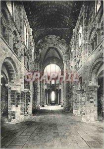 Modern Postcard Abbey of Mont St Michel (Manche) Abbey Church