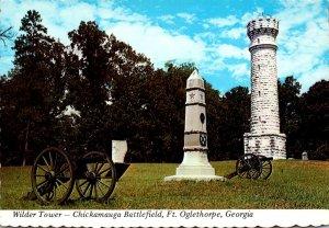 Georgia Fort Oglethorpe Chickamauga Battlefield Wilder Tower