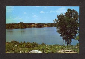 ME Lake Pennesseewassee Norway South Paris Maine Postcard
