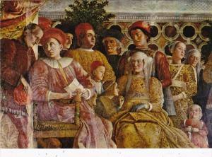 Italy Mantova San Giorgio Castle Wedded Hall Mantegna Frescoes