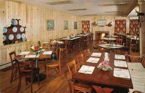 Rehoboth Beach Delaware Dinner Bell Inn and Motel Dining Room Postcard JF686572