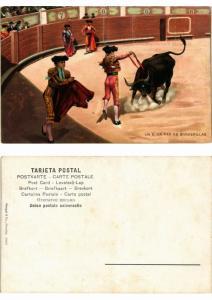 CPA Bullfighting - Un Buen Par de Banderillas (776037)
