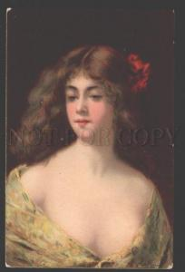 107679 Lady BELLE w/ Long Hair by Angelo ASTI vintage TSN