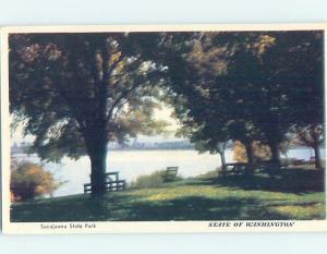 Unused 1940 SACAJAWEA STATE PARK Olympia Washington WA H1656