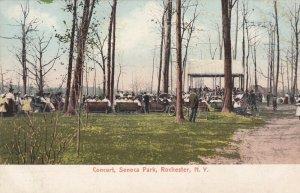 ROCHESTER , New York , 1901-07 ; Concert, Seneca Park