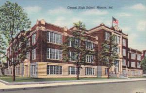 Indiana Muncie Central High School Curteich