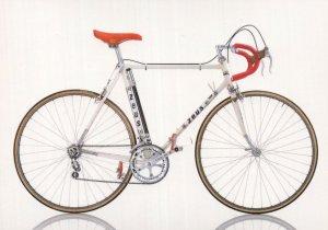 Zeus Spain Bicycle 1979 Spanish Bike Cycle Postcard