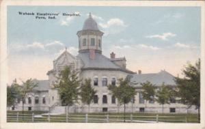 Indiana Peru Wabash Employees Hospital 1916
