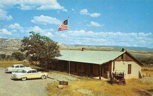 FORT VERDE MUSEUM Camp Verde, Arizona ca 1950s Vintage Postcard