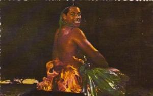 Fiji Fijian Fire Dancer