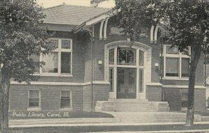 CARMI , Illinois , 1900-10s ; Public Library