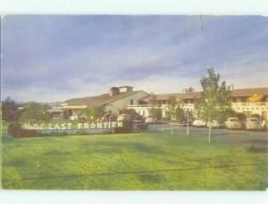 Unused Pre-1980 LAST FRONTIER CASINO HOTEL Las Vegas Nevada NV hr3568
