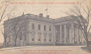Washington DC White House Wilson Inauguration Pullman Ventilator Ad PC AA20949