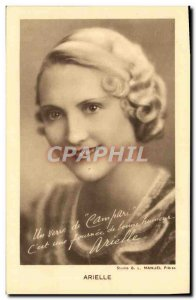 Old Postcard Arielle