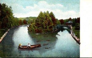 Massachusetts Worcester Boating In Elm Park
