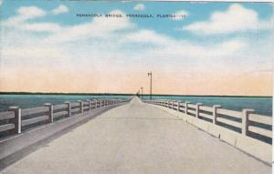 Florida Pensacola The Peansacola Bridge Across Pensacola Bay
