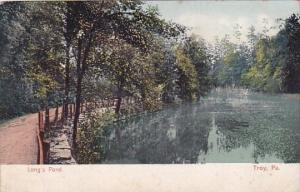 Pennsylvania Troy Longs Pond 1907