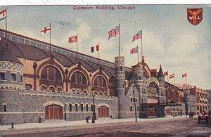 Illinois Chicago Coliseum Building 1911
