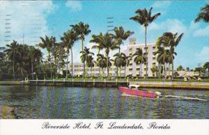 Florida Fort Lauderdale Riverside Hotel 1965