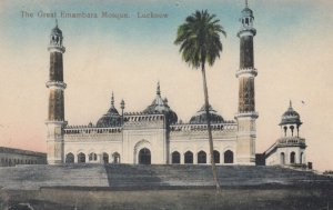 LUCKNOW, India, 1900-10s; The Great Emambara Mosque