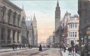 Corporation Street , BIRMINGHAM , Warwickshire , England , PU-1914