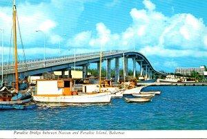 Bahamas Paradise Bridge Between Nassau and Paradise Island