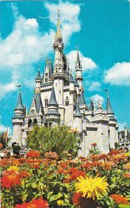 Florida Orlando Walt Disney World Cinderella Castle 1975