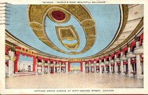 Illinois Chicago Trianon World's Most Beautiful Ballroom 1953