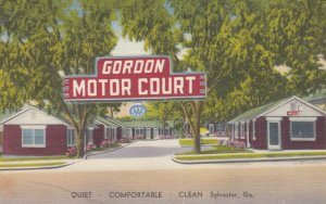 SYLVESTER , Georgia , 1930-40s ; Gordon Motor Court