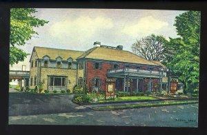Sandwich, Massachusetts/Mass/MA Postcard, Daniel Webster Inn, Cape Cod