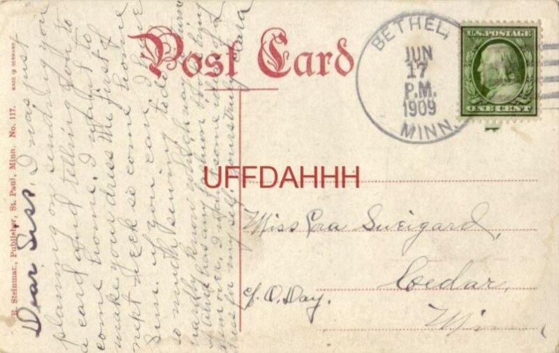 ORPHEUM THEATRE, MINNEAPOLIS 1909