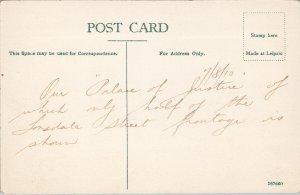 Melbourne Australia The Law Courts c1910 JW Lindt Postcard E71