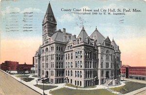 County Court House City Hall St. Paul,  MN