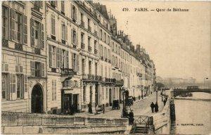 CPA PARIS 4e quai de Bethune. (464095)