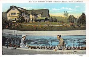 Beverly Hills, CA, USA Mary & Doug at Home Pickfair