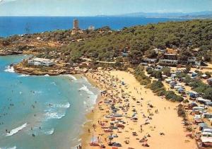 Spain Costa Dorada Tarragona, Camping Torre de la Mora Plage Beach Panorama
