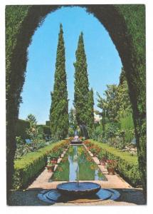 Spain Generalife Gardens Granada 1971