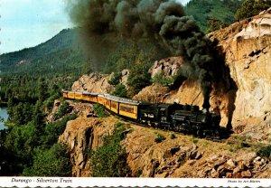 Colorado Durango-Silverton Train Approaching Rockwood Junction