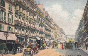 PARIS , France , 1907 ; La Rue De La Paix ; TUCK Serie 934 P No 22
