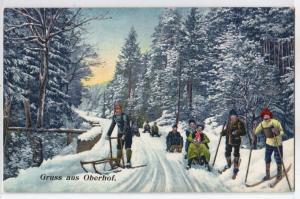Gruss aus Oberhof - Sledding