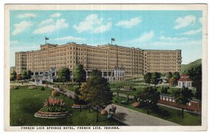French Lick, Indiana, French Lick Springs Hotel